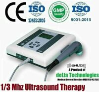 Advance Portable 1/3 Mhz Ultrasound Therapy Ultrasound Therapy Chiropractic Unit
