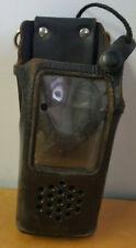 Ef Johnson 5100 Leather Radio Holder With Belt Loop
