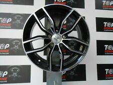 04Cerchi IN LEGA 17millemiglia mm39 ANTRACITE DIAM/BLACK DIAM X AUDI A3 VW GOLF