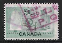 Canada Scott #334, Single 1953 Complete Set FVF Used