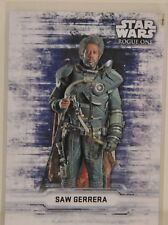 "2016 Topps Star Wars Rogue One Series  ""SAW GERRERA""  Character Stickers"