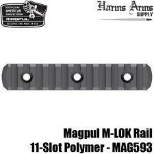 Magpul M-Lok 11-slot Picatinny Rail Section Polymer Mlok for Handguard Mag593