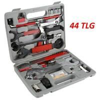 44tlg Fahrrad Werkzeugkoffer Bike Tool Set Box Reparatur Werkzeugtasche Werkzeug