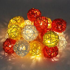3M 20pcs Sepak Takraw Bedside Table Lamp LED Light Simple Home Decorations