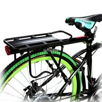 Bike Rear Rack 50kg Capacity Alloy Bike Bicycle Seat Post Cargo Racks Portable