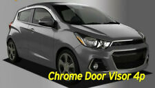 Chrome Silver Door Visor Window Rain Vent Guard D635 for Chevy Spark 2016~2019