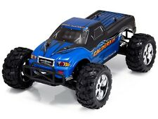 1:10 Caldera 10E RC Monster Truck 4WD Brushless Electric Motor 2.4GHz Blue New