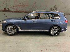 BMW X7 G07 Diecast Miniature Arctic Grey 1:18 Scale Kyosho 80432450997