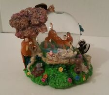 Bambi & Friends Snowglobe / Disney Store Exclusive / Waltz of the Flowers Tune