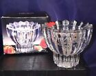 """New In Box Mikasa Crystal Candle Holder DIAMANTE for Votive, Tea light 3"""""""