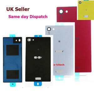 Rear Battery Back Cover Door For Sony Xperia Z5 Compact Sony Z5 Mini + adhesive