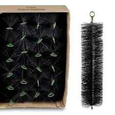 (€2,95/St) 24 Stück Filterbürsten 70 x 15 cm schwarz - Koi Teich Filter Brush
