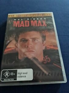 Mad Max The Complete Collection Dvd Region 4