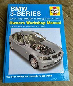 BMW 3-Series 2005 to Sept 2008 (54 to 58 reg) Haynes Manual 4782