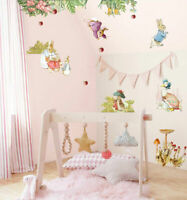 Rabbit Bunny Kids Wall Stickers Removable Art Decal Mural Nursery Girls Decor AU