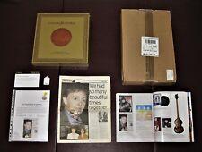 Concert For George: PAUL McCARTNEY (Signed) Program + Ltd. DELUXE Box Set + Book