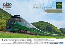 Kato 10-1570 Series 87 TWILIGHT EXPRESS Mizukaze 10 Cars Set (N scale) Japan NEW
