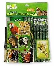 Animal Planet Party Favor Pack, 56 Pieces Birthday Goodies
