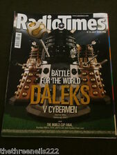 RADIO TIMES - DOCTOR WHO - DALEKS v CYBERMEN - JULY 8 2006 COVER #1 OF 2