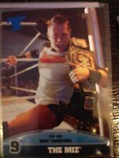2013 Topps Best of WWE Top Ten WWE Champions #9 The Miz