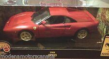 FERRARI 288 GTO RED HOT WHEELS VERY RARE DISCONTINUED BRAND NEW IN NEAR MINT BOX