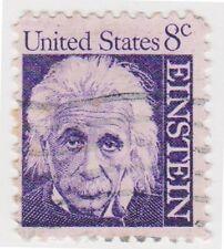 (USB237)1965 USA 8c Albert Einstein SG1267