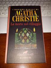 AGATHA CHRISTIE LA MORTE NEL VILLAGGIO   HACHETTE 2001 cartonato