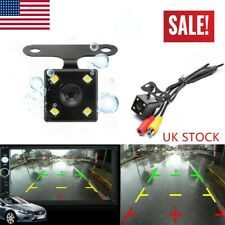 4 LED Car Backup CMOS Camera Rear View Reverse Parking Night Vison DIY Kit 170°