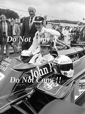 Colin Chapman & Mansell & Elio De Angelis Lotus 87 Launch 1981 Photograph 2