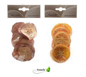 Getrocknete Obstscheiben Deko Adventskranz Weihnachtskranz Basteln Weihnachten