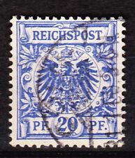Alemania Deutsches Reich/1889 Mi. Nr. 48d Adler/Corona 20 PF utilizado geprüft/Expt.