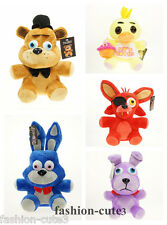 New FNAF Five Nights at Freddy's Sanshee Chica Bonnie Bear Foxy Plush Toy Doll