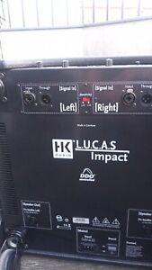 HK Audio Lucas Impact Aktive Lautsprecher (DJ, oder Livebeschallung)
