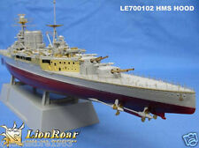 LionRoar PE details 1/700 HMS Battle-Cruiser Hood For Trumpeter
