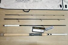 NEW Team Dragon Voyager Trout travel spinning 4 piece rod (4-21g),Toray, Fuji