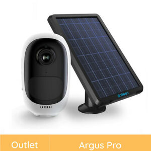 Reolink Refurbished 1080p Wireless Rechargeable Security IP Camera + Solar Power