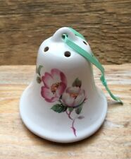 Lovely Vintage Ceramic Pomander/Ornament/Bell Shaped/By Aidees of Torquay/Retro