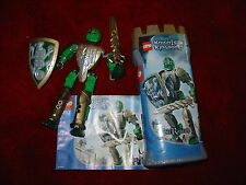 LEGO KNIGHTS KINGDOM SIR RASCUS BOXED IN TUB WITH INSTRUCTIONS FREE SHIPPING
