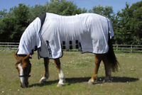 Rhinegold Sahara Fixed Full Neck Combo All In One Horse Fly Rug + Tail Flap
