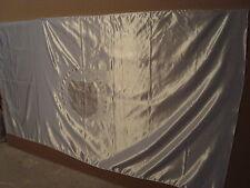 HIGHROLLER FERRIS WHEEL LARGE BLACK BEADED LOGO WHITE FLAG LAS VEGAS, NEVADA!