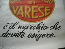 GRANDE MANIFESTO PUBBLICITARIO A COLORI_SCARPE_CALZATURE_GRAFICA LANDI_VARESE