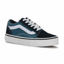 Canvas Medium Width Shoes for Boys Blue