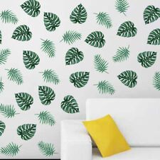Green Palm Leaves Wall Decal Plant Art Home Decor Vinyl Sticker Removable Mural