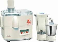 Inalsa Gloria 450-Watt Juicer Mixer Grinder (White) Free Universal Plug