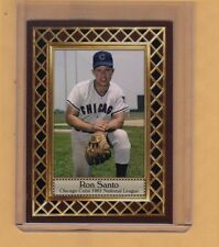 Ron Santo 1961 Chicago Cubs rookie season, Fan Club serial numbered /300