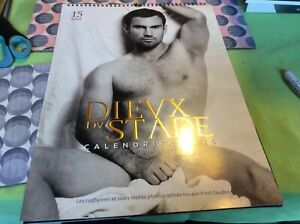 Dieux du stade French Rugby calendar 2015 15th Anniversary. 40 photos