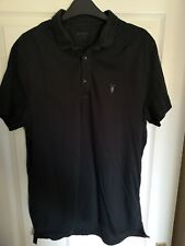 All Saints Bramford Polo Black Size XXL