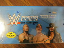 Factory Sealed Hobby Box - 2015 Topps WWE Heritage Wrestling Cards