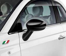 FIAT 500 GRANDE PUNTO Gloss Black TAPPI SPECCHIO COPRE NUOVO E ORIGINALE 71807486