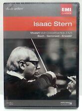 ISAAC STERN : EMI CLASSICS DVD MOZART / BACH / GEMINIANI / KREISLER ~ PARIS NEW!